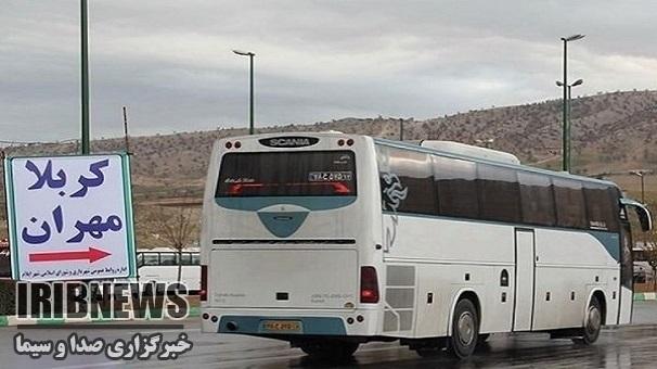 جابجایی زائران اربعین زنجانی  با 160 دستگاه اتوبوس
